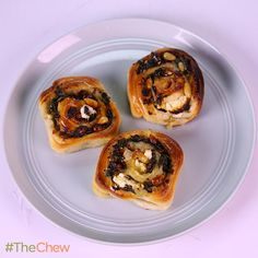 Spinach & Feta Pizza Wheels by Michael Symon! #TheChew