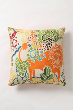 Fantastic Forest Pillow - anthropologie.com LOVE THIS but it's huge 30x30
