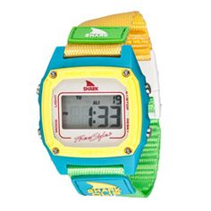 Watches - Freestyle Women's 'Shark Clip' Nylon Strap Digital Watch - WAS $55 NOW $37.51 | Get paid up to 7.5% Cashback when you shop at Overstock.com with your DubLi membership. Not a member? Sign up for FREE at www.downrightdealz.net