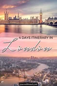 Our awesome 4 days London Itinerary – Wondering how to enjoy a 4 day London itinerary? We put together our favourite attractions in London so you can fall in love with the English capital city during your first-time visit. Romantic Vacations, Romantic Getaway, Romantic Travel, Bratislava, Budapest, Malta, Amazing Destinations, Travel Destinations, Stockholm