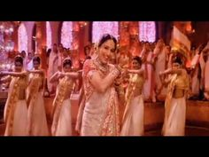 """""""Dola Re Dola."""" The instant-hit song from the stunning movie Devdas. Has every element that makes it unforgettable: excellent choreography, wonderful actresses, and beautiful visual sets (the entire movie did!)"""