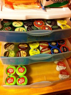 AN EPIC LIZ: How-to Tuesday: Keurig K-Cup Storage!