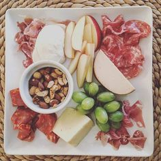 Stuck at home means we're doing our own happy hour. #charcuterie #meat #cheese #appetizer #snacks #happyhour #home