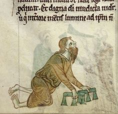 Medieval sick people,  1220. Londra, British Library