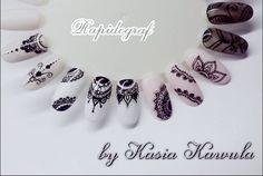 Przepiękne zdobienia rapidografem by Katarzyna Kawula z Love'n'Nails Indigo Gdańsk <3 <3 <3 Bądź na bieżąco! Sprawdź nasze nowości na www.indigo-nails.com #indigo #nails #black #nude #nailsdesign #rapidograf #gelpolish