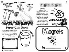 Magnets Flippy Book from Mrs. Bainbridge's Shop on TeachersNotebook.com -  (1 page)