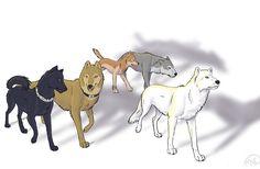 Wolf's Rain gang by OpalEquinox.deviantart.com on @DeviantArt