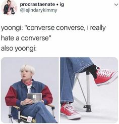 Everyone focuses on that line because it is in English...he literally goes on to say it's because they're too hard to get off of someone, whereas high heels are easy to get off.