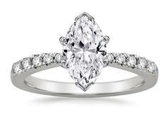 Freccia Marquise Diamond Engagement Ring