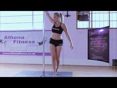 On the Pole tutorial - beginners spins - YouTube