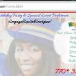 Help #EventEmcee #AishaRGriffin Promote Positive #Physical Participation with Hip Hop #ClownKidazzle Parties © for #Daycare #Preschool #Elementary #Middle or High School #Youth, #Adults & #Seniors. Kidazzle Parties© is an #AfricanAmericanClown with high-energy. This interactive entertainer leads Non-stop, Action-packed & Fun-filled experience.  #Partylinedance, singAlong, play interactive #games to #music, #facepainting, #balloontwisting art, and more that have been enjoyed at #birthdays…