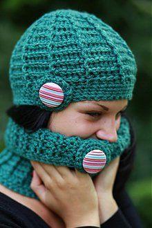 Čiapky - smaragdová zeleň - 2700488