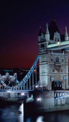 Tower Bridge,Night,  London, England♥♥♥