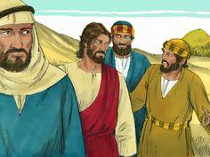 Jesus is transfigured 9