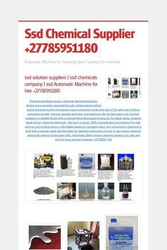 Ssd Chemical Supplier - Automatic Machine for Cleaning black Currency for hire/sale by Secure Ssd Chemical Supplier 27785951180 ROY J Chemical Suppliers, Cleaning Chemicals, Dental, Delivery, How To Apply, The Unit, Type, Teeth, Dentist Clinic