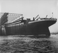 May 31, 1911: Launch of the Titanic at Harland & Wolff. Grandfather, Edward B. Whitley, steel worker/boiler maker was aboard.