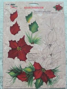 One Stroke Reusable Christmas Teaching Guides by ClaudiasCrafts39 by cynthia