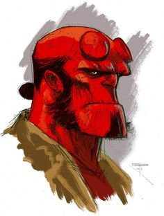 Hellboy by German Peralta