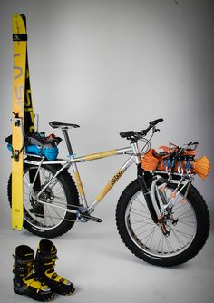 This is an adventure bike!