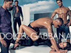 Feminist Elizabethan: Rape Culture: Dolce & Gabbana Ad The media and advertising that we see everyday by the most coveted brands encourages violence. In this instance, rape. Dolce & Gabbana, Banned Ads, Objectification Of Women, Advertising Campaign, Fashion Advertising, Funny Advertising, Fashion Marketing, Creative Advertising, Bane