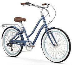 online shopping for sixthreezero EVRYjourney Women's Step-Through Alloy Hybrid Cruiser Bicycle, 24 Wheels/ 14 Frame from top store. See new offer for sixthreezero EVRYjourney Women's Step-Through Alloy Hybrid Cruiser Bicycle, 24 Wheels/ 14 Frame Beach Cruiser Bikes, Cruiser Bicycle, Bicycle Wheel, Bicycle Sidecar, Bicycle Stand, Recumbent Bicycle, Beach Cruisers, Bicycle Shop, Motorized Bicycle