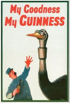 My Goodness, My Guinness! ...hangin' in the kitchen. #slainte
