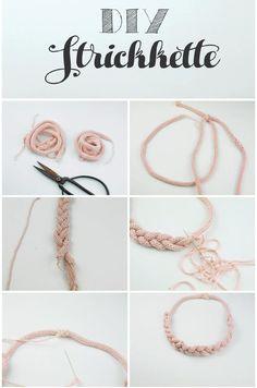 DIY Strickkette