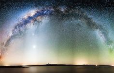 Spectacular Starry Skies Convey the Essence of the Universe