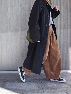 coat and dress outfit Look Fashion, Korean Fashion, Winter Fashion, Fashion Coat, Muslim Fashion, Fashion Rings, Mens Fashion, Mode Outfits, Casual Outfits