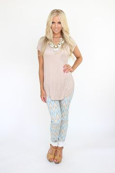 Lime Lush Boutique - Zig Zag Print Skinny Pants, $42.99 (http://www.limelush.com/zig-zag-print-skinny-pants/)