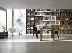 Półki na książki.Biblioteczka z kwadratowych półek.