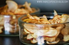 EASY SNACK | Dehydrated Apple in Microwave! | Andreia Pereira Blog