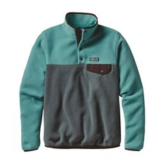 Patagonia Lightweight Synchilla Snap-T Fleece Pullover for when the temp dips.