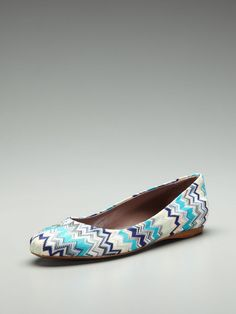 Ballet Flat by Missoni Shoes on Gilt.com