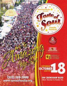 @IAMQUEENLATIFAH has become the FIRST celebrity chair of the Taste @tasteofsoulla on Oct 18