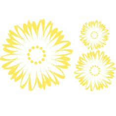 Hey, I found this really awesome Etsy listing at https://www.etsy.com/listing/65473651/abstract-sunflower-vinyl-wall-decals