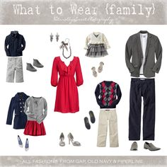 Cute coordinating outfits for family shoot Family Portraits What To Wear, Family Portrait Outfits, Family Picture Outfits, Clothing Photography, Family Photography, Photography Outfits, Photography Ideas, Holiday Photography, Heart Photography