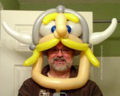Northern Kentucky University Norse mascot hat/mask revision - Jack Mattson/David Brenion inspired. #NKU