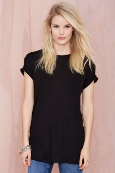 Nasty Gal Back To Basics Tee | Shop What's New at Nasty Gal