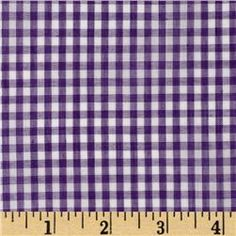 Your Project Design Wall - Fabric - Store Woven 1/8'' Gingham Purple
