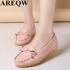 2017 spring and summer new women's shoes Korean version of Peas shoes soft and comfortable light nurses shoes