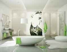 Bathroom / salle de bain Salomé collection / collection Salomé #bathroom #salledebains