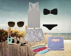 Summer in the Hamptons, created by rebeccaminkoff on Polyvore