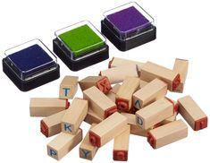 small foot design 8140 Stempel-Set Buchstaben: Amazon.de: Spielzeug