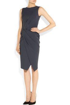 A classy work summer dress. #work #style
