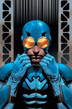 Blue Beetle by Tyler Kirkham.  Such an underrated character