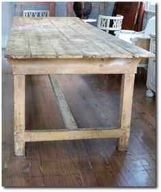 French Farmhouse Table 667×797 Pixels
