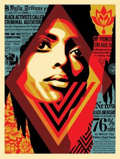 """An incredibly rare limited edition print from Shepard Fairey (Obey) entitled """"Bias by Numbers"""". Created by the artist to celebrate. Protest Kunst, Protest Art, Street Art Paris 13, Shepard Fairey Art, Shepard Fairy, Pop Art, Urbane Kunst, Political Art, A Level Art"""