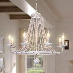 Amazon.com : french country bedrooms colors French Country Chandelier, Rustic Chandelier, White Chandelier, Vintage Chandelier, Farmhouse Pendant Lighting, Wrought Iron Chandeliers, Hanging Chandelier, Rustic Lighting, Pendant Chandelier