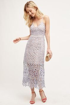 HD in Paris Celane Lace Dress at Anthropologie